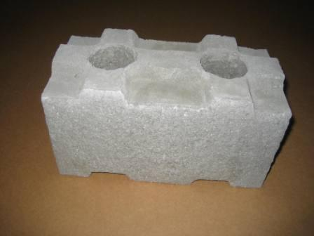 Concrete block insulation images for Insulated block house