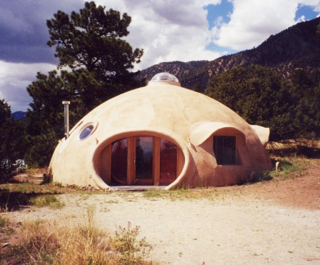 Monolithic dome in Colorado